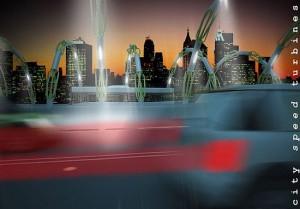 cityspeedturbine ekologia darmowa energia 300x209 Miasta pozyskają energię z ruchu samochodowego?