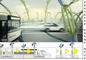 cityspeedturbine pozyskiwanie energii jadace samochody 300x209 Miasta pozyskają energię z ruchu samochodowego?