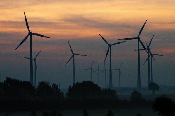 Farma wiatrowa (Fot. Wnp.pl)