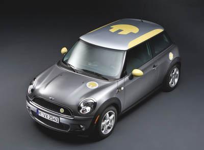 Projekt elektrycznego Mini od BMW / Fot. Kufry-aluminiwe.eu