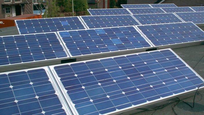 panele słoneczne - oze