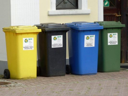 recykling - składowanie odpadów