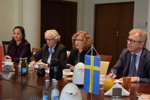 spotkanie polsko-szwedzkie - ochrona klimatu