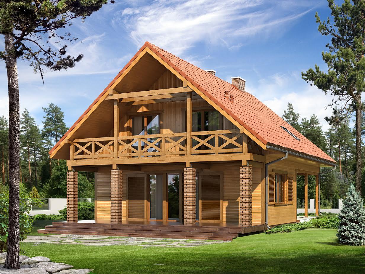 Dom ekologiczny Indygo 2
