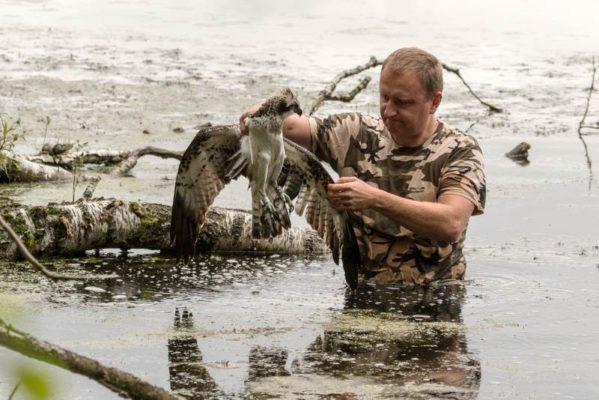 akcja ratunkowa rannego rybołowa