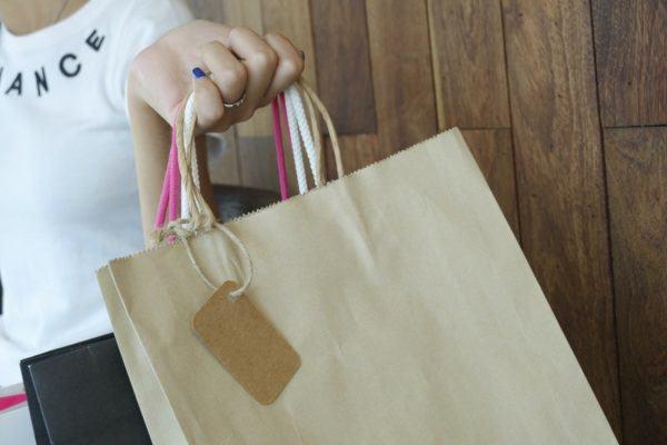 torebka papierowa zwolniona z opłaty recyklingowej
