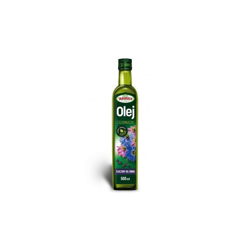 olej z czarnuszki - tłoczony na zimno