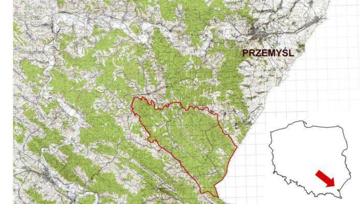 Lokalizacja i granice planowanego Turnickiego Parku