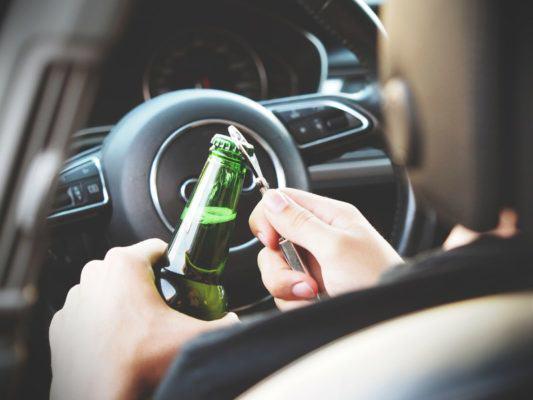 alkohol za kierownicą