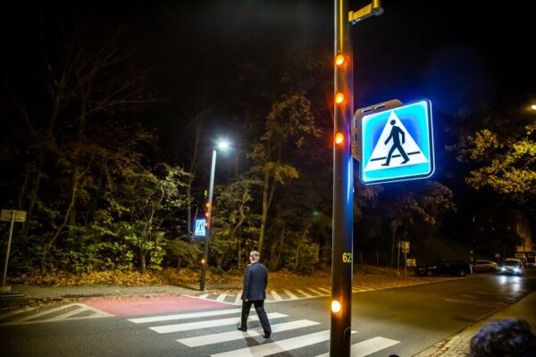 Inteligentne przejście dla pieszych