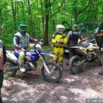 Policja i Straż Leśna zatrzymali motocrossowców